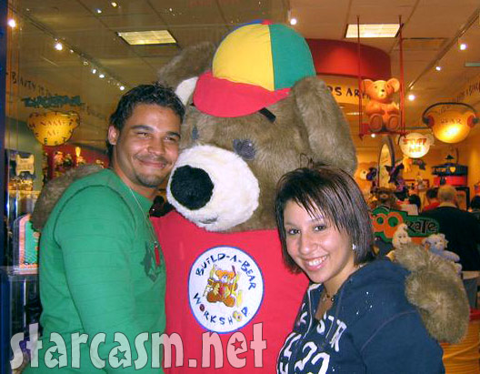 Jenelle Evans' new boyfriend Kieffer Delp with his ex at a Build-A-Bear workshop