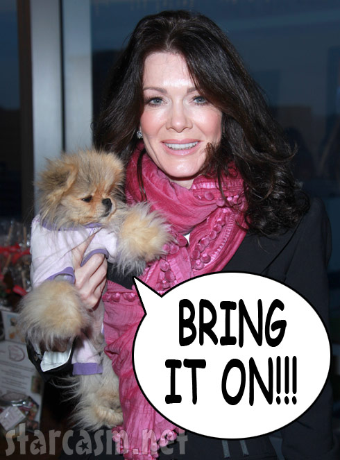 Lisa Vanderpump attacked, Giggy says Bring It On!
