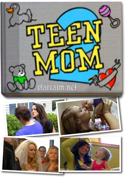 MTV's Teen Mom 2 starring Jenelle Chelsea Leah and Kailyn