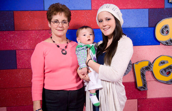 jenellejaceandbarbara During the night, I saw an old woman taking care of the two kids, ...