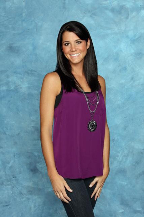 Contestant Jill from The Bachelor 15 with Brad Womack