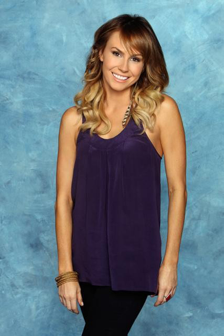 Contestant Keltie Colleen from The Bachelor 15 with Brad Womack 2011