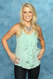 Contestant Lisa P. from The Bachelor 15 with Brad Womack 2011