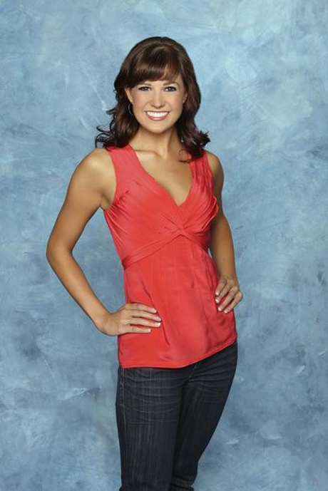 Contestant Sarah L. from The Bachelor 15 with Brad Womack