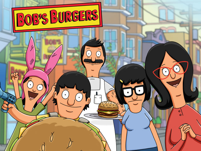 Family photo of Bob's Burgers
