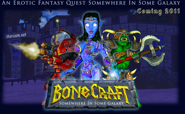 Adult version of Worlds of Warcraft BoneCraft