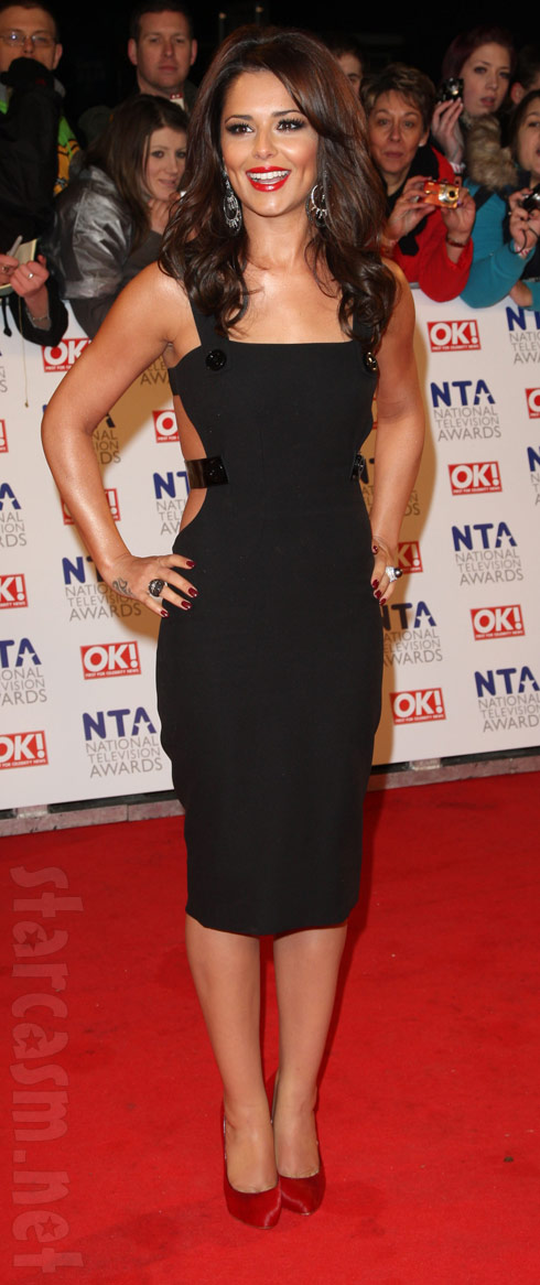 Cheryl Cole Tweedy from Girls Aloud at the 2011 National Television Awards