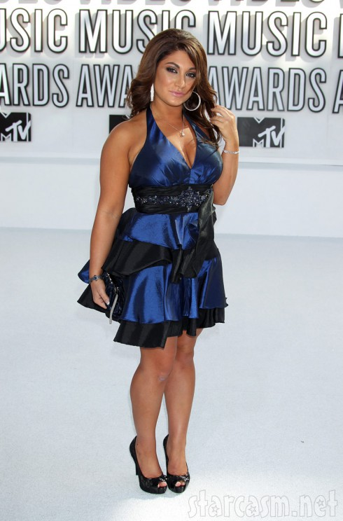 Jersey Shore's Deena Nicole Cortese at the 2010 MTV Video Music Awards