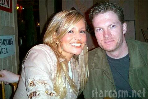 The Bachelor's Emily Maynard with NASCAR driver Dale Earnhardt Jr