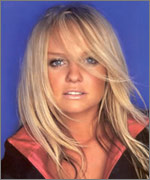 Baby Spice from the Spice Girls Emma Bunton