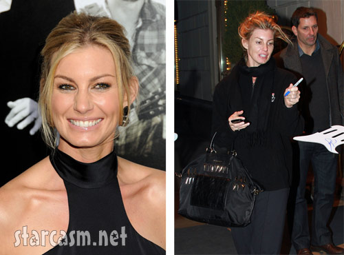 Faith Hill Side-by-side