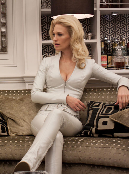 January Jones as Emma Frost photo from X-Men First Class