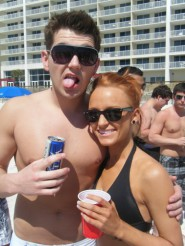 Teen Mom Maci Bookout bikini picture on Spring Break 4 of 13