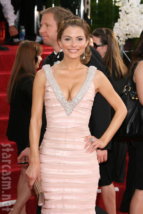 2011 Golden Globes Maria Menounos