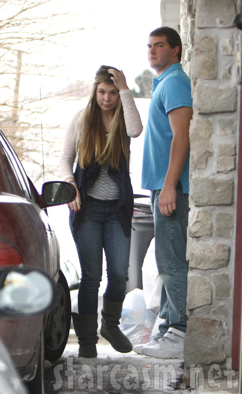Teen Mom 2's Kailyn Lowry with her new boyfriend outside Isaac's 1st birthday party