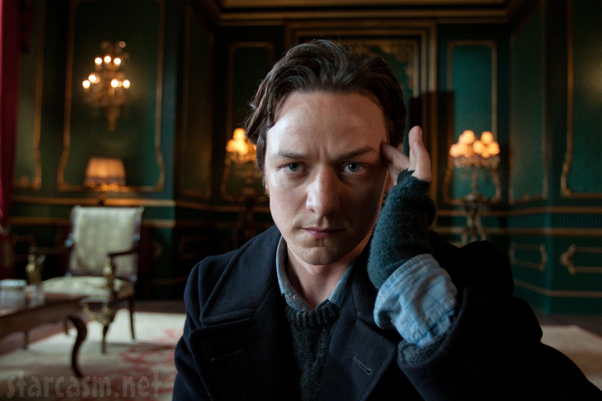press still photo of James McAvoy as Professor X in X-Men  First ClassJames Mcavoy X Men Wheelchair