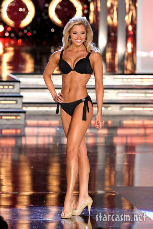 Miss Mississippi Sarah Beth James looks amazing during the preliminaries for the 2011 Miss America pageant.