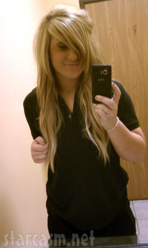 Teen Mom 2 Chelsea Houska with blond hair