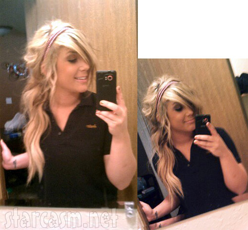 Pictures of Teen Mom 2 Chelsea Houska with blonde hair