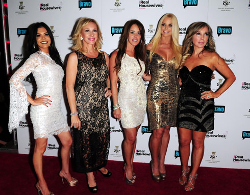 Real Housewives of Miami premiere party February 21 2011