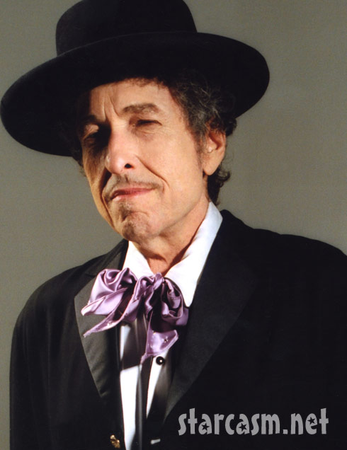 Bob Dylan looking dapper