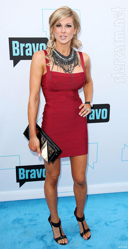Alexis Bellino at the 2011 Bravo Upfront presentation