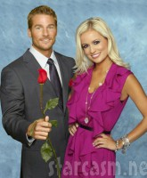 The Bachelor Brad Womack and fiancee Emily Maynard