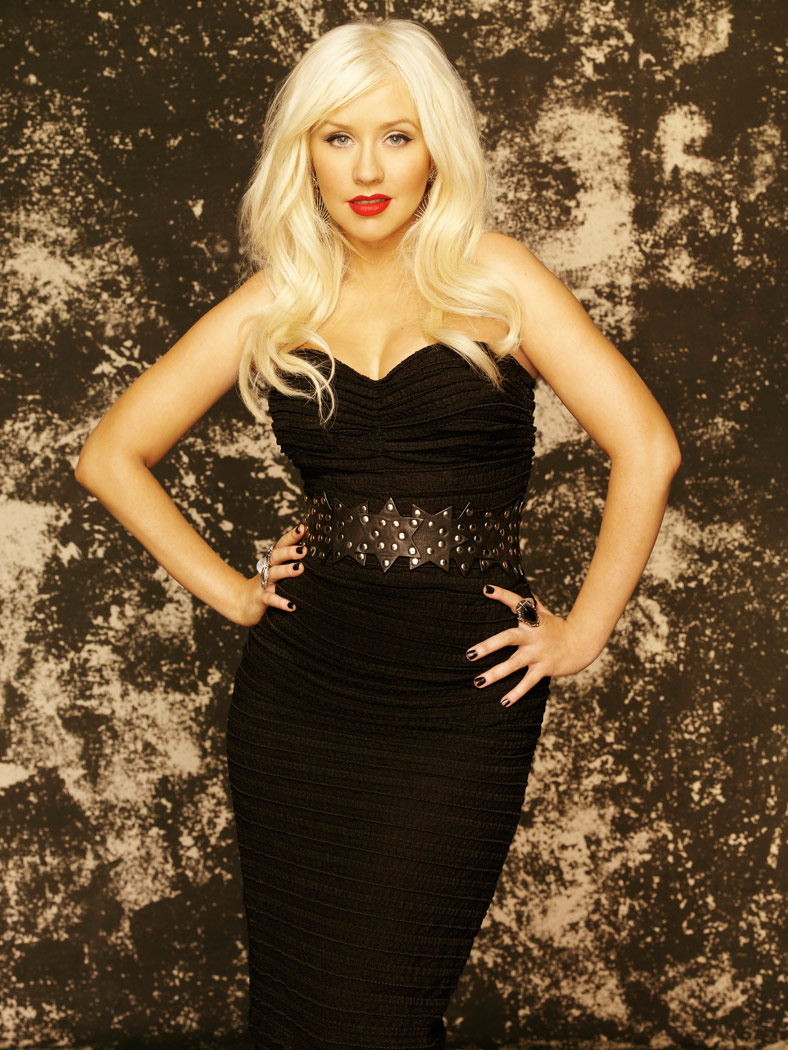 Christina Aguilera promo photo from The Voice