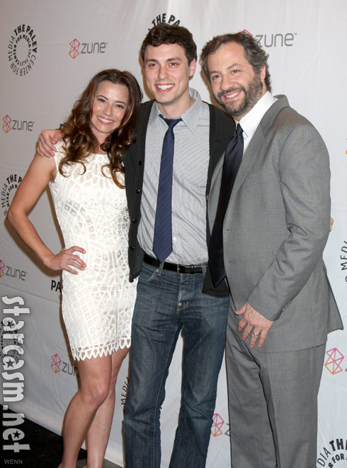 Linda Cardellini, John Francis Daley and Judd Apatow at the Freaks and Geeks Reunion 2011