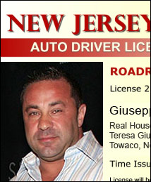 Giuseppe Joe Giudice arrested for fraudulent New Jersey driver's license