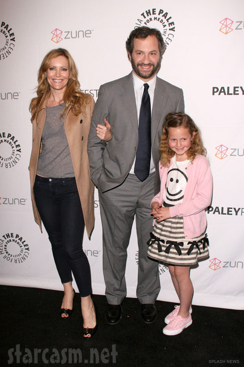 Judd Apatow and family at the Paleyfest 2011 Freaks and Geeks Reunion