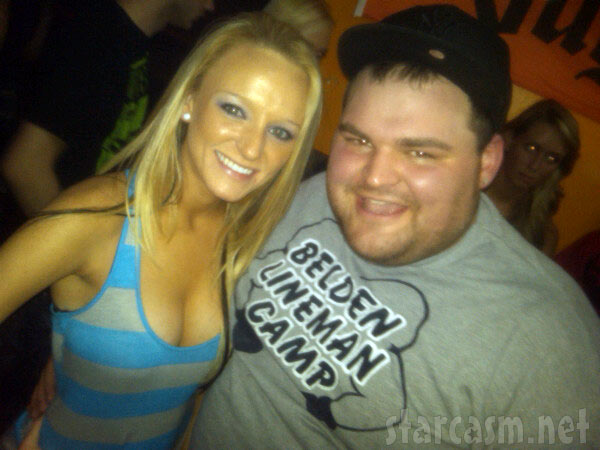 Teen Mom Maci Bookout, her new boobs and Gary Shirley together