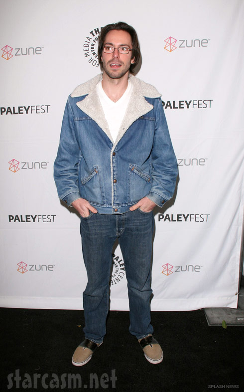 Martin Starr at the Paleyfest 2011 Freaks and Geeks Reunion