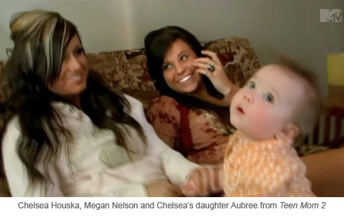 Teen Mom 2 stars Chelsea Houska roommate Megan Nelson and daughter Aubree Skye