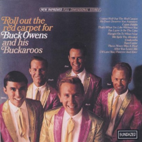 Buck Owens and the Buckaroos Roll Out the Red Carpet album cover