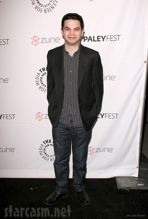 Samm Levine at the Paleyfest 2011 Freaks and Geeks Reunion