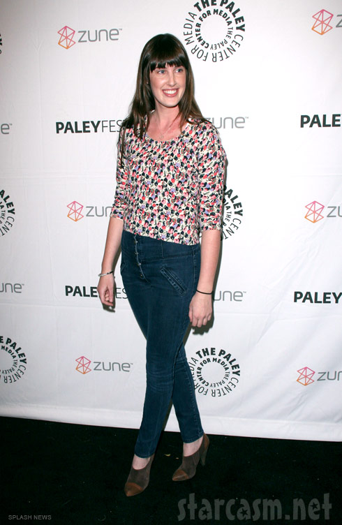 Sarah Hagan at the Paleyfest 2011 Freaks and Geeks Reunion