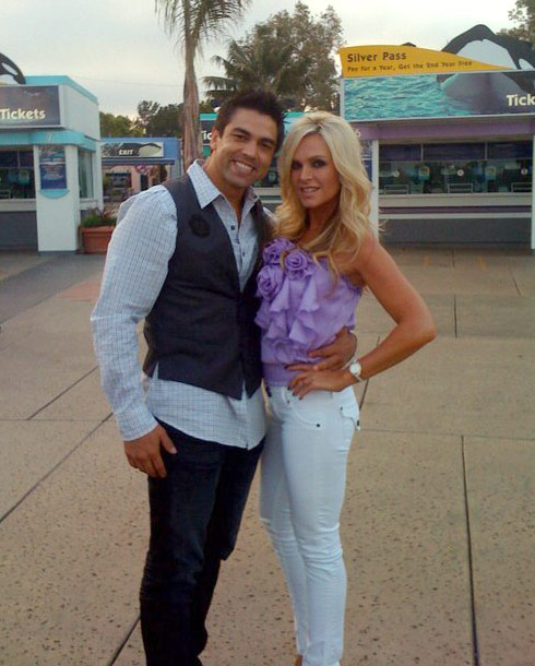 Tamra Barney and new boyfriend Eddie Judge