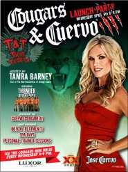 Real Hosuewives of Orange County's Tamra Barney hosting Cougars and Cuervo launch party