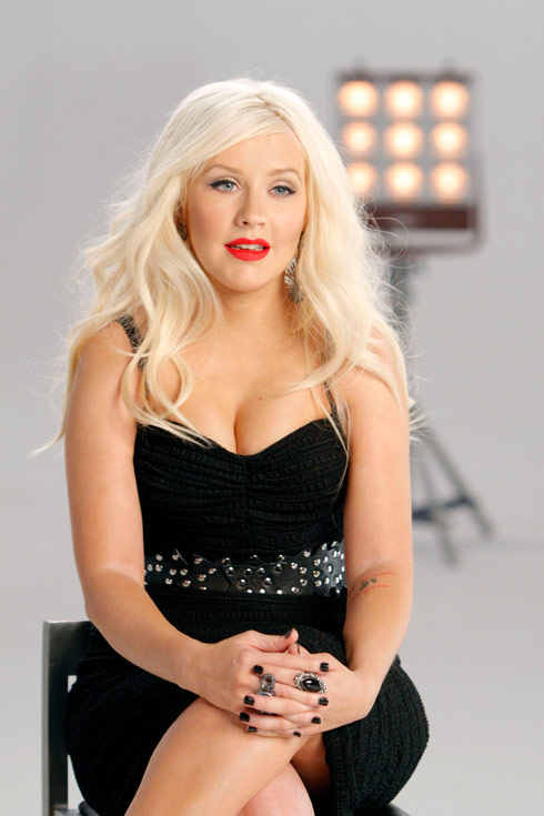 The Voice promo photo of coach Christina Aguilera
