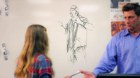 "Patrice ""Pato"" Wilson raps in Alana Lee's video ""Butterflies"""