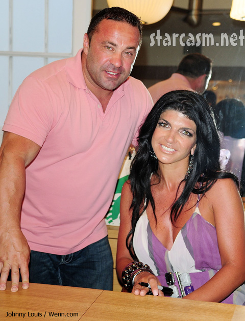 Juicy Joe Guidice and Teresa Giudice