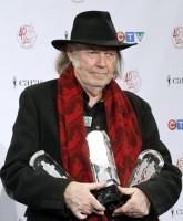 Neil Young receives Humanitarian Award at 2011 Juno Awards