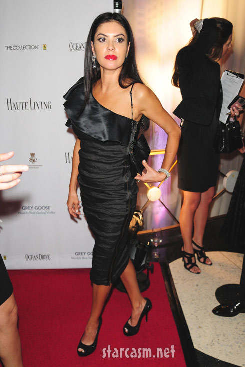 Miami Housewife Adriana De Moura attends Black's Annual Gala 2011