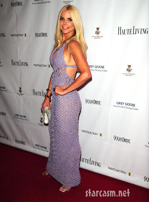 Miami Housewife Alexia Echevarria attends Black's Annual Gala 2011