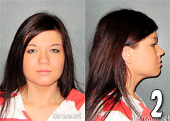 Teen Mom Amber Portwood mug shot photos