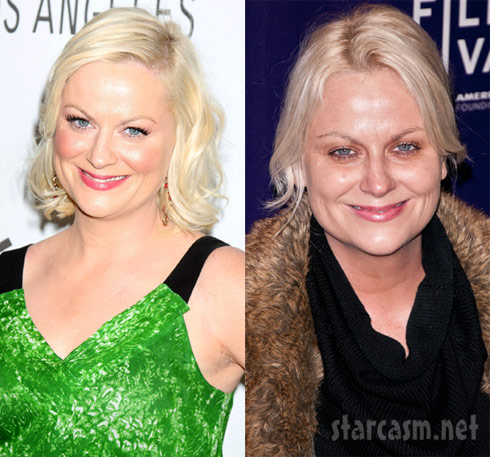 Amy poehler arrived at the hoodwinked too premiere at tribeca looking