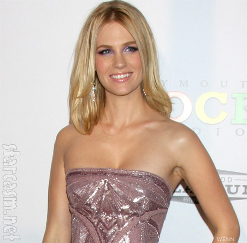 January Jones' rep tells People magazine she is pregnant
