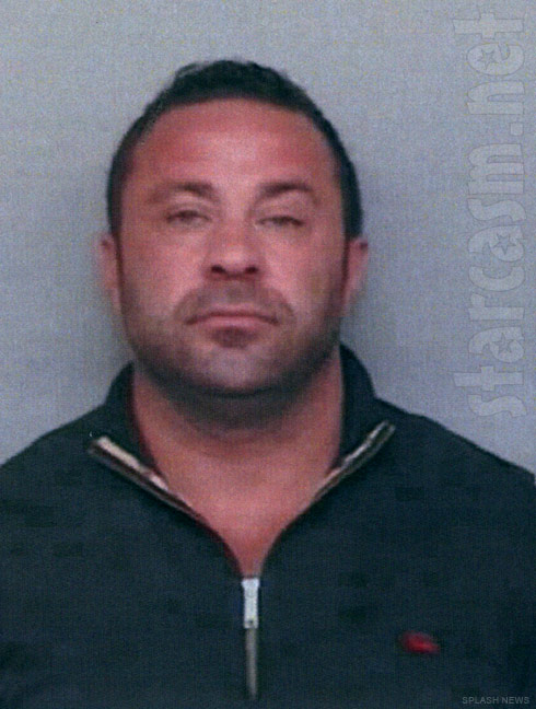 Joe Giudice mug shot picture from his fake driver's license arrest