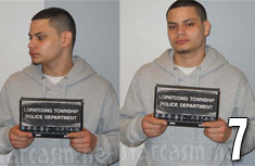 Teen Mom Jonathan Jo Rivera mug shot photos